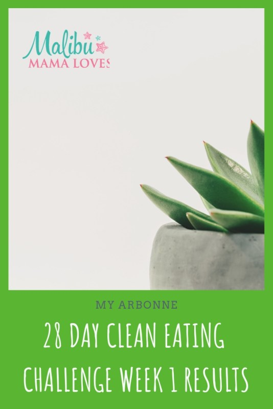 Conscious Living: Arbonne 28 Day Clean Eating Challenge Week 1 Results