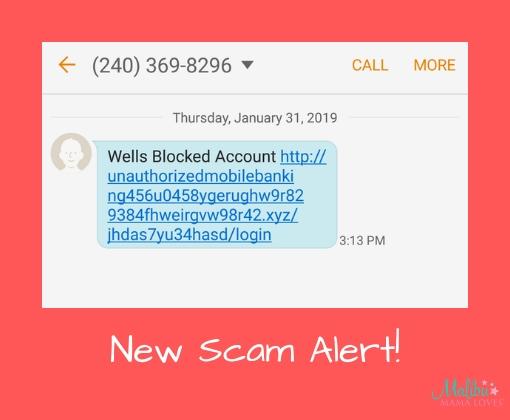 New Scam Alert