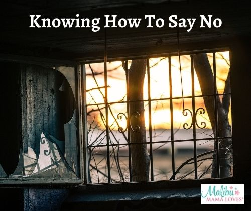 Knowing-How-To-Say-No