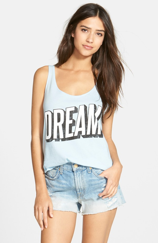 Wildfox 'Dream Scene' Hiker Tank