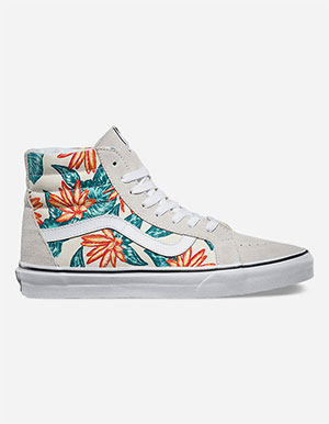 VANS Vintage Aloha Sk-8 Hi Reissue Mens Shoes & Sneakers