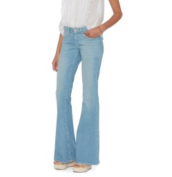 L 'Agence Elysse Flare Powder Denim Pants