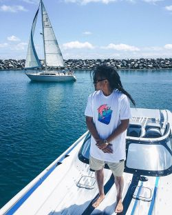 Pink Dolphin The Waves Tee