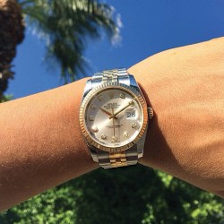Rolex Datejust Womens Watch