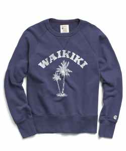 Todd Snyder Waikiki Graphic Sweatshirt