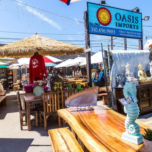 Oasis Imports – Outdoor Furniture & Home Decor Store – Malibu, California
