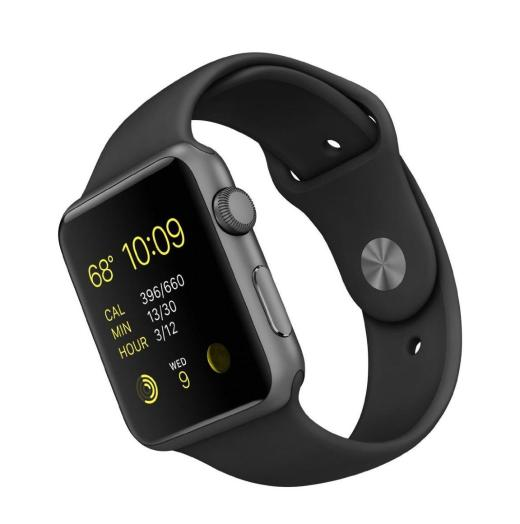 Apple Watch Sport with Space Grey Aluminum Case