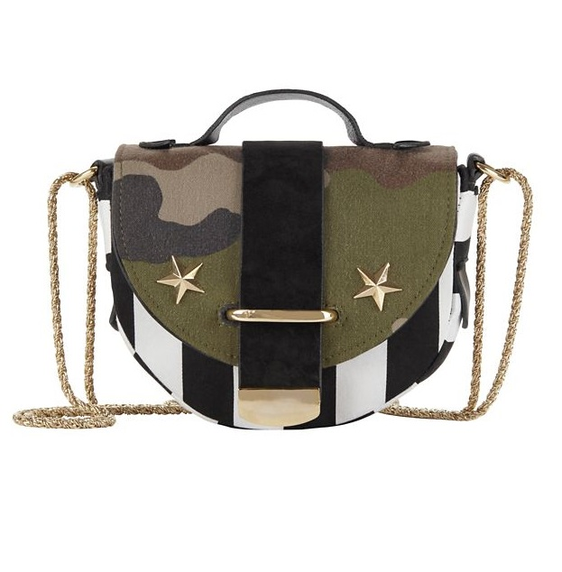 Delphine Delafon Striped Army Bag