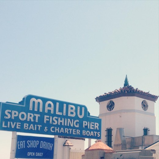 Malibu Pier Sign – Malibu, California