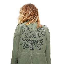 MOTHER Military Cargo Veteran Jacket