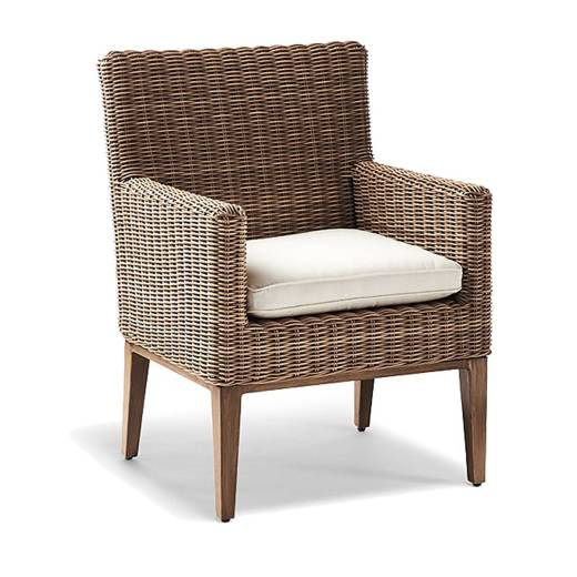 Somerset Dining Arm Chairs with Cushions Set of Two