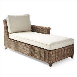 Somerset Right-facing Chaise with Cushions