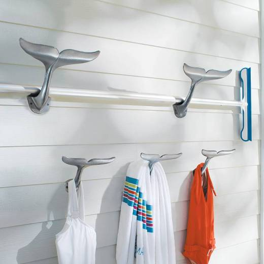 Whale Tail Hooks – Outdoor Home Decor