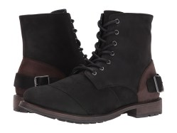 ALDO Preuss Black Leather Mens Boots