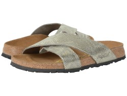 Birkenstock Daytona Royal Python Grey Leather Sandals