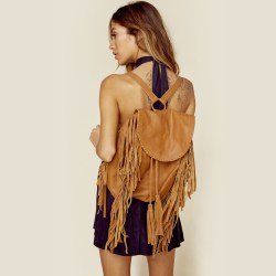 Cleobella Hendrix Tan Backpack