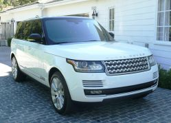 Range Rover Supercharged Rare 2014 Long Wheel Base Fiji White California Car