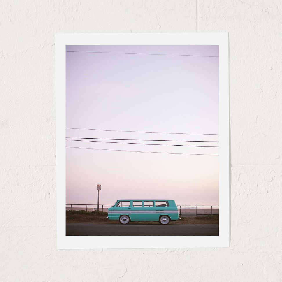 Zuma Beach 'Greenbrier' Art Print by Max Wanger