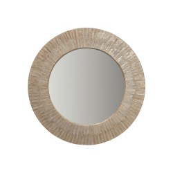 Capiz Seashell Sunray Wall Mirror