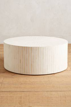 Rounded Inlay Coffee Table
