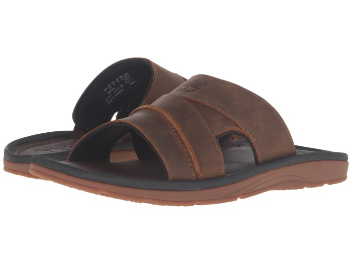 Timberland Original Rugged Slide Brown Sandals