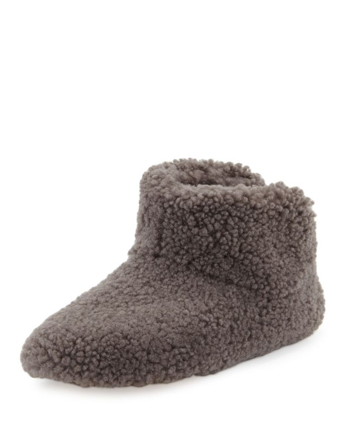 UGG Amary Sheepskin Fur Slipper Bootie Shoes
