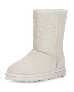UGG Classic Short Everlasting White Boots