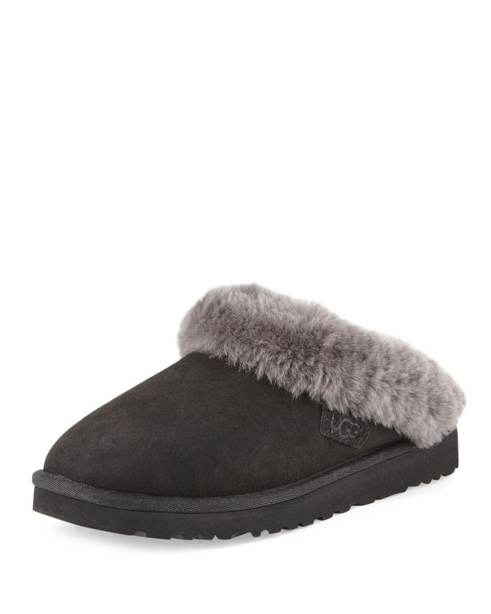 UGG Cluggette Shearling Slide Slippers