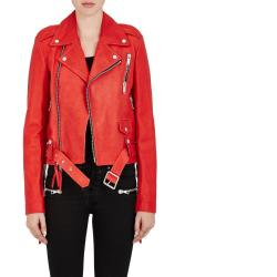 Unravel Project SRL Leather Biker Jacket