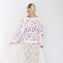 Wildfox Garden Kim's Flower Sweater