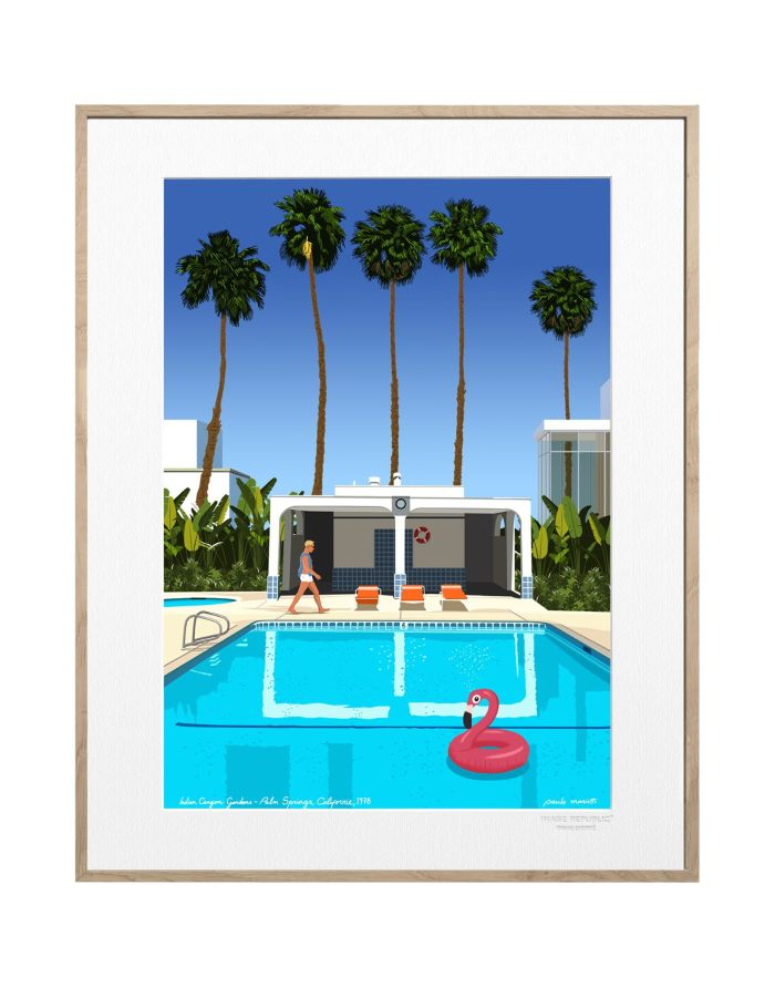 """Palm Springs"" Design by Paulo Mariotti – Image Republic Wall Decor"
