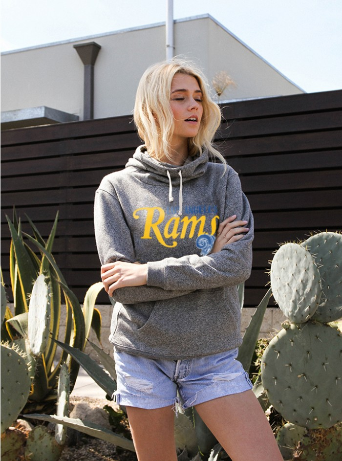 NFL LA Rams Cowl Womens Sweater