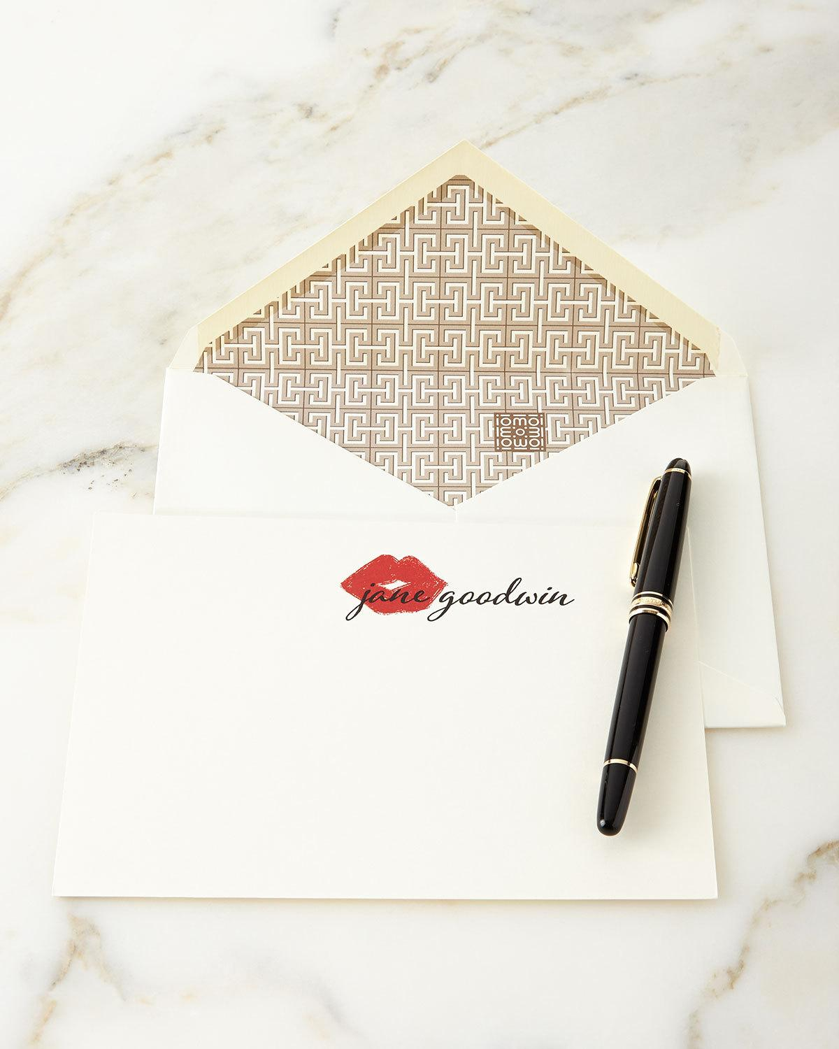 044748116567 Parker Thatch XOXO Personalized Notecards