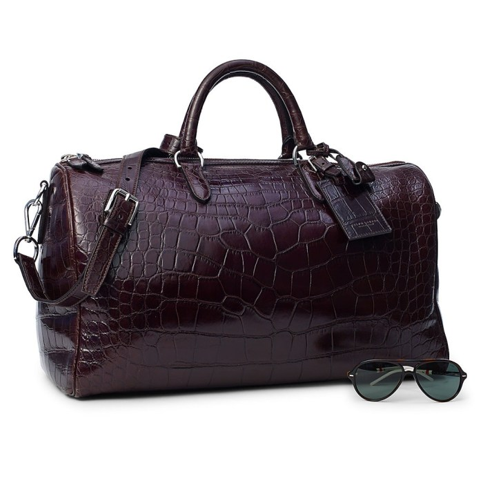 Ralph Lauren Boston Alligator Bag