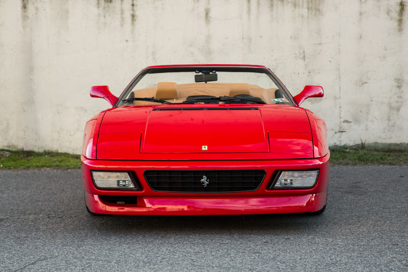 Ferrari 348 Spider 1995 Red Convertible Sports Car