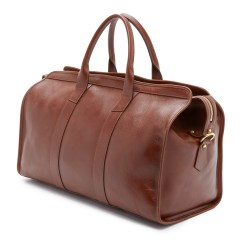 Lotuff Leather Duffel Travel Bag with Pocket Handmade in the USA