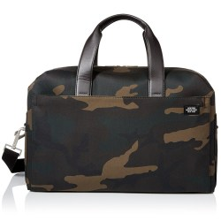 Jack Spade Camo Waxwear Mens Overnight Travel Bag