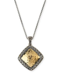 John Hardy Classic Chain Gold & Silver Heritage Necklace
