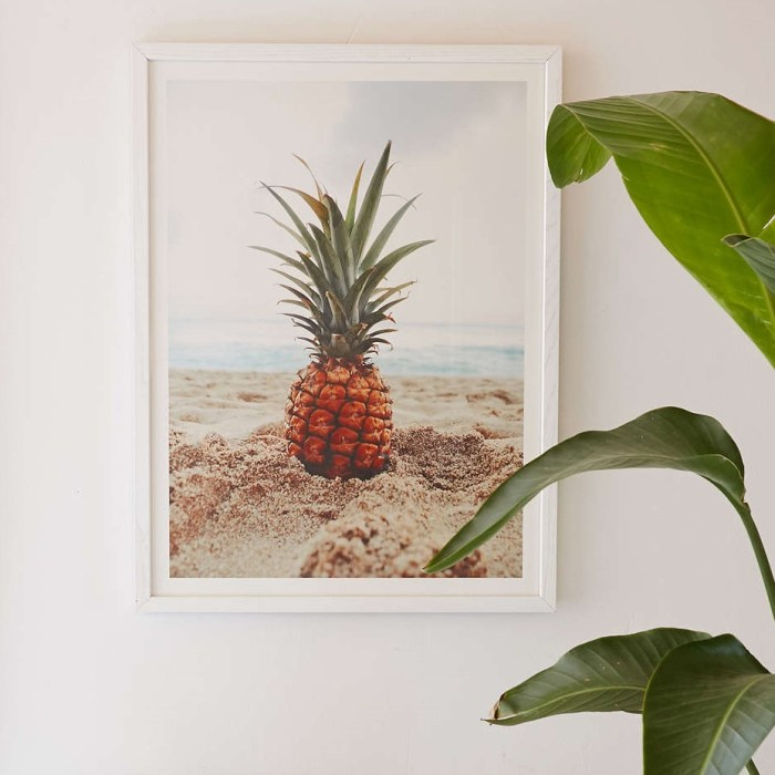 Salty Pineapple Art Print by Kat Gaskin