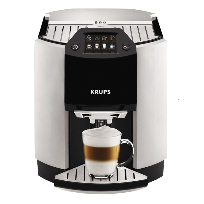 KRUPS Barista One Touch Cappuccino EA9010 Fully Automatic Machine