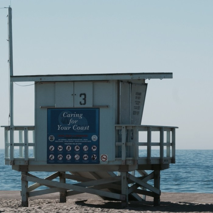 Zuma Beach Lifeguard Tower 3 in Malibu, CA