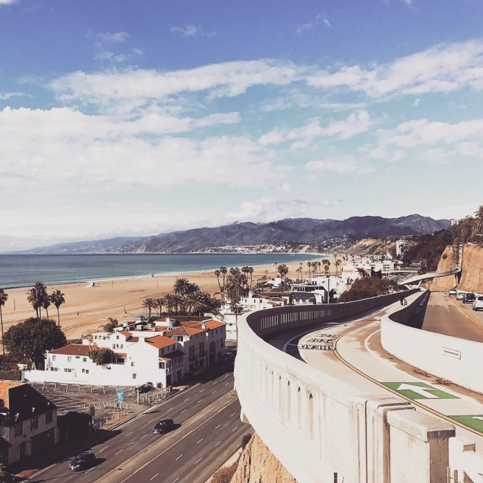 Bay Views After the Storm from the Santa Monica Incline