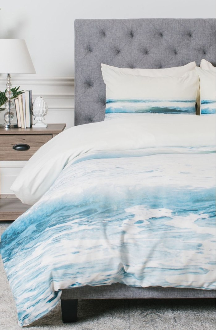 Ride Waves Duvet Cover & Sham Set by Deny Designs