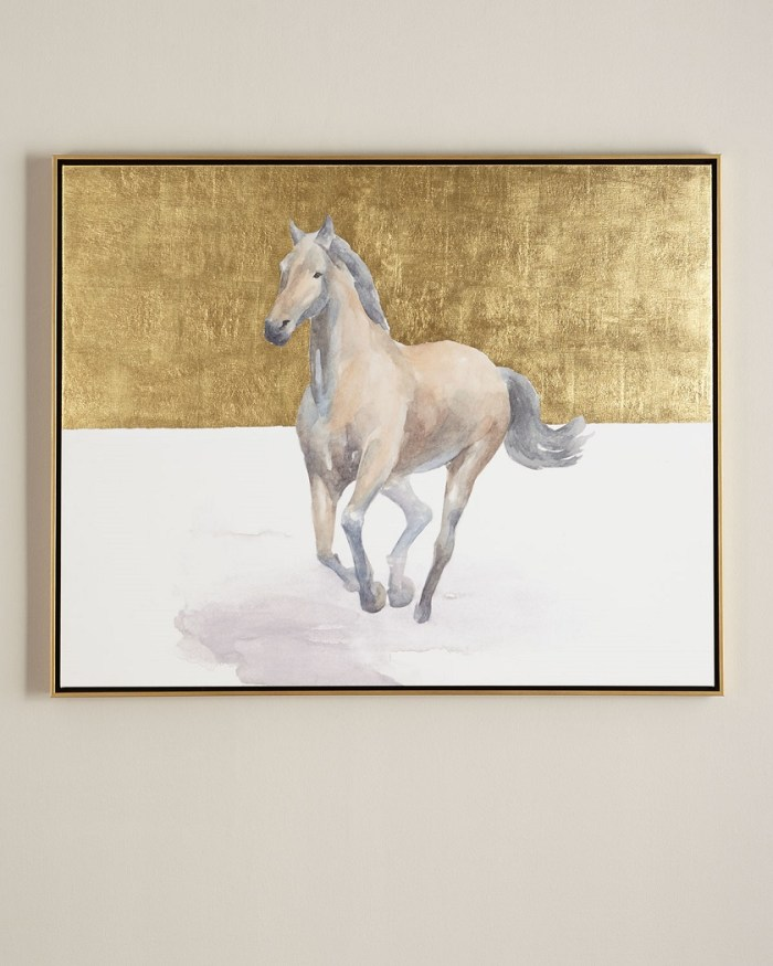 """Golden Dame"" Giclee Wall Art"