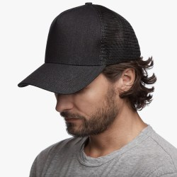 James Perse Dark Indigo Denim Trucker Hat