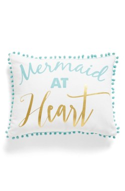 Levtex Mermaid at Heart Pillow
