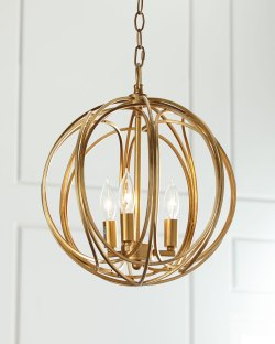 Regina-Andrew Design Ofelia Medium 3-Light Pendant