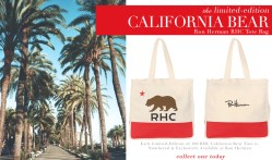 RON HERMAN Exclusive Limited Edition RHC Bear Tote Bag