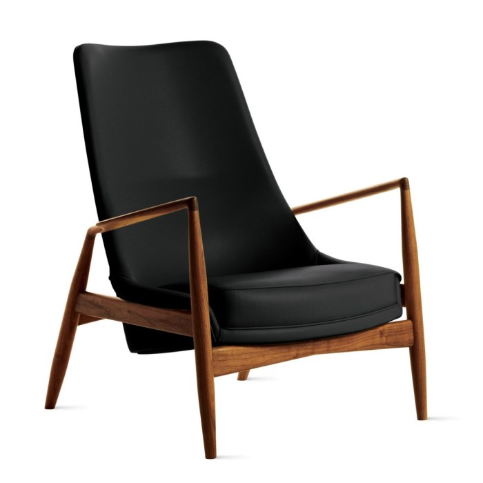 Seal High Back Lounge Chair