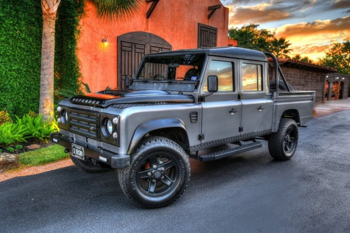 1986 Land Rover Defender 130 Silversnow Pickup Truck